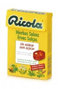 RICOLA CARAMELOS S/AZ 50G HIERBAS