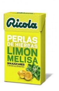 RICOLA PERLAS S/AZ LIMON