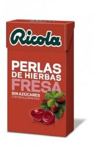 RICOLA PERLAS S/A FRESA 25 G.