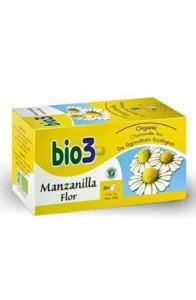 BIO 3 MANZANILLA FLOR 25 BOLS