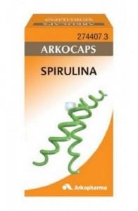 SPIRULINA ARKOCAPSULAS 48 CAPSULAS