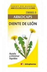 DIENTE DE LEON ARKOPHARMA 245 MG 50 CAPS