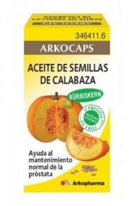 CALABAZA SEMILLAS ACEITE ARKOPHARMA 50 CAPS