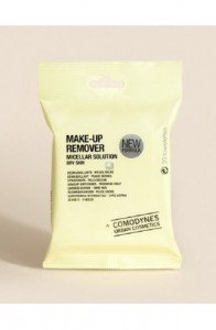 COMODYNES MAKE UP REMOVER DRY SKYN MICELLAR SOLUTION FACE & EYES 20UN