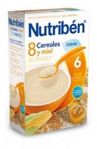 NUTRIBEN 8 CER MIEL CAL 600 G