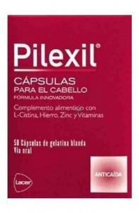 PILEXIL 50 CAPSULAS