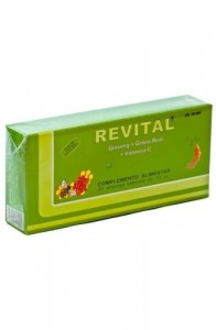 REVITAL GINS JALEA VT C 20AM B