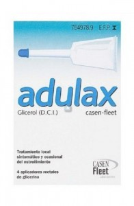 ADULAX 6.14 ML SOLUCION RECTAL 4 ENEMAS 7.5 ML