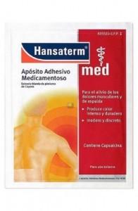 HANSATERM 4,8 MG 2 APOSITOS ADHESIVOS MEDICAMENTOSOS 12 X 18 CM