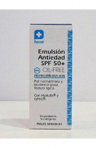 FC EMULSION ANTIEDAD SPF 50+ OIL FREE 50ML