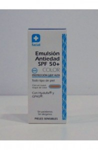 FC EMULSION CON COLOR ANTIEDAD SPF 50+ 50ML