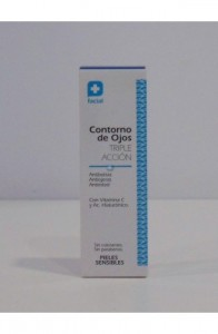 FC CONTORNO DE OJOS TRIPLE ACCION 15ML