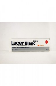 LACER PASTA BLANC PLUS 75 ML