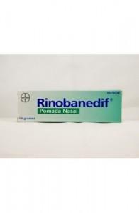 RINOBANEDIF POMADA NASAL 1 TUBO 10 g