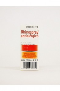 RHINOSPRAY ANTIALERGICO 5.05 MG/ML + 1.18 MG/ML NEBULIZADOR NASAL 12 ML