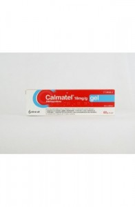 CALMATEL 18 MG/G GEL TOPICO 60 G