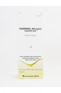 HODERNAL 800 mg/ml SOLUCION ORAL 1 FRASCO 300 ml