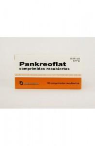 PANKREOFLAT GRAGEAS 6000 U / 6000 U / 400 U / 80 MG 50 COMPRIMIDOS