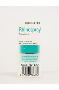 RHINOSPRAY 1.18 MG/ML NEBULIZADOR NASAL 12 ML