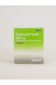 FLUIMUCIL FORTE 600 MG 20 COMPRIMIDOS EFERVESCEN