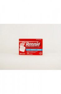 RENNIE 680 mg/80 mg 84 COMPRIMIDOS MASTICABLES (CON SACAROSA)
