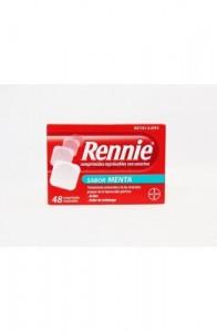 RENNIE 680 mg/80 mg 48 COMPRIMIDOS MASTICABLES (CON SACARINA)
