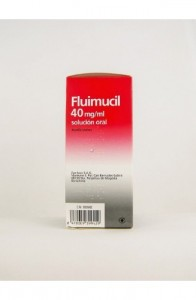 FLUIMUCIL 40 mg/ml SOLUCION ORAL 1 FRASCO 200 ml