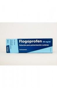 FLOGOPROFEN 50 mg/ml SOLUCION PARA PULVERIZACION CUTANEA 1 FRASCO 100 ml