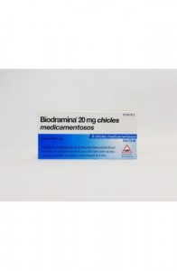 BIODRAMINA 20 MG 6 CHICLES